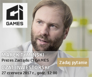 Czat Strategia CI Games 2017